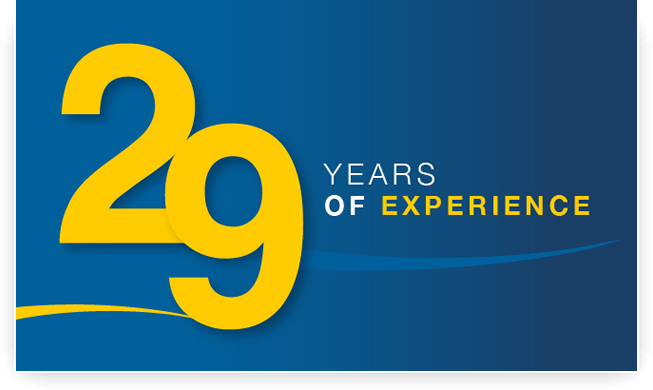 28 Years of Experience