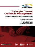 The Complete Course on Contracts Management: Contracts Management Specialist
