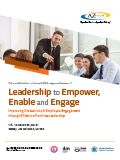 Leadership to Empower, Enable and Engage
